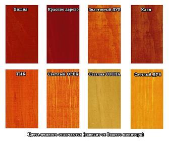 Лак для дерева цветной petri